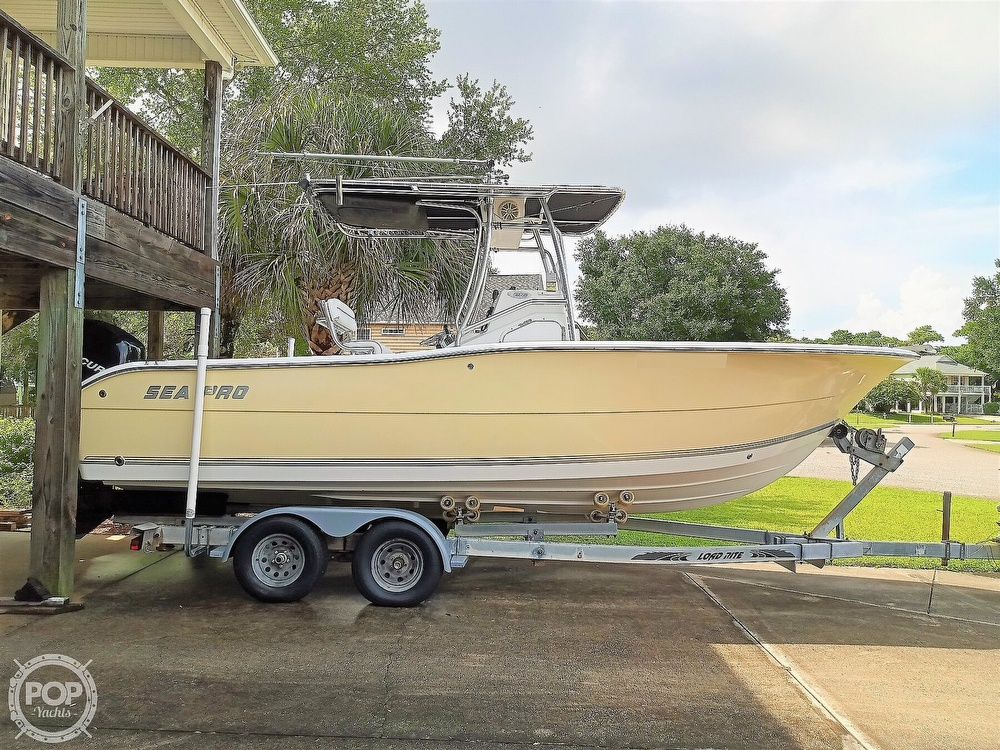 2007 Sea Pro boat for sale, model of the boat is 238 CC & Image # 4 of 40