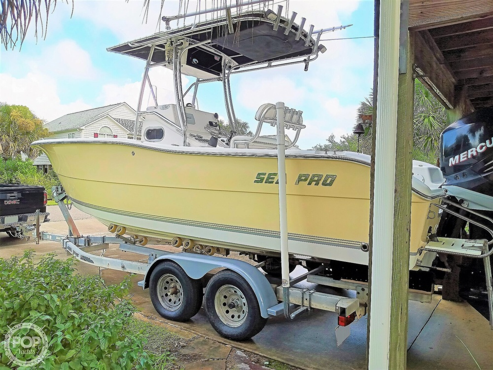 2007 Sea Pro boat for sale, model of the boat is 238 CC & Image # 24 of 40