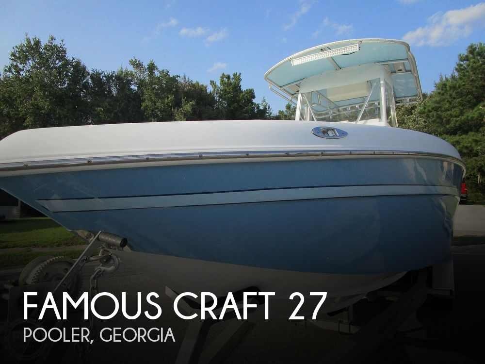 2007 Famous Craft boat for sale, model of the boat is 27 & Image # 1 of 40