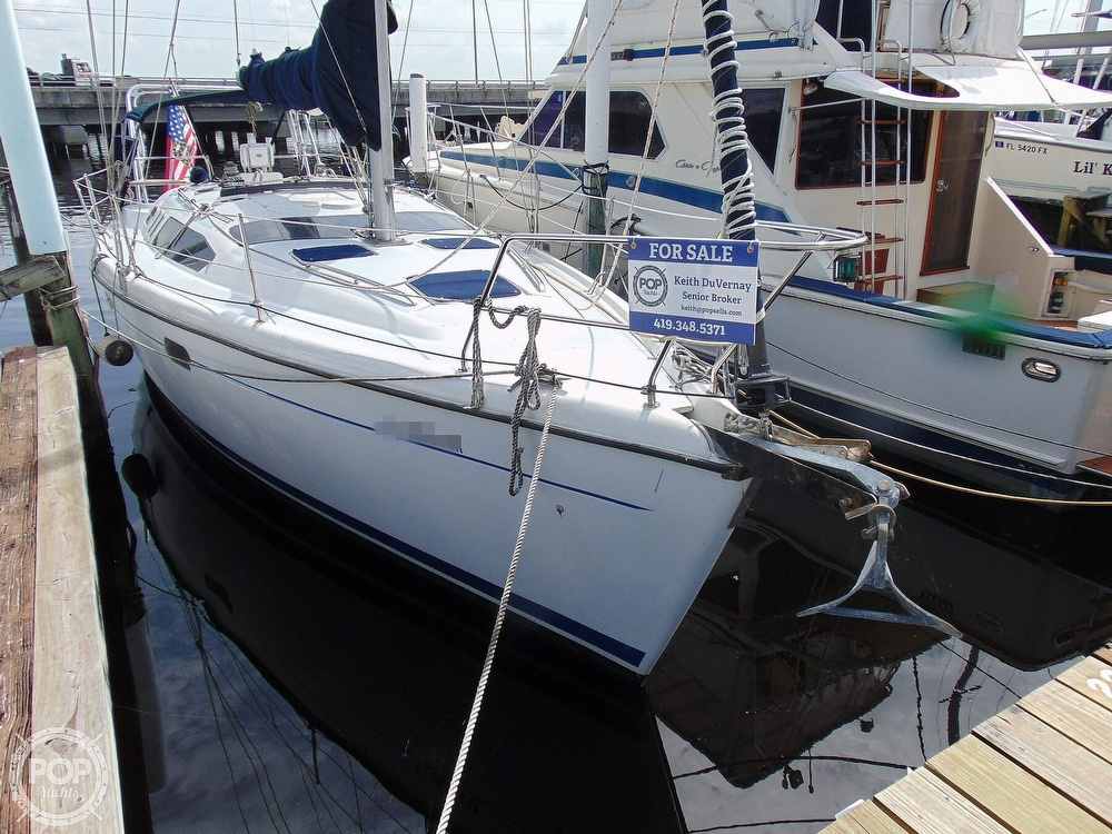 1997 Hunter boat for sale, model of the boat is 376 & Image # 26 of 40
