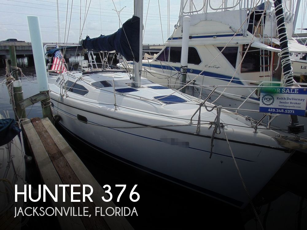 1997 Hunter boat for sale, model of the boat is 376 & Image # 1 of 40