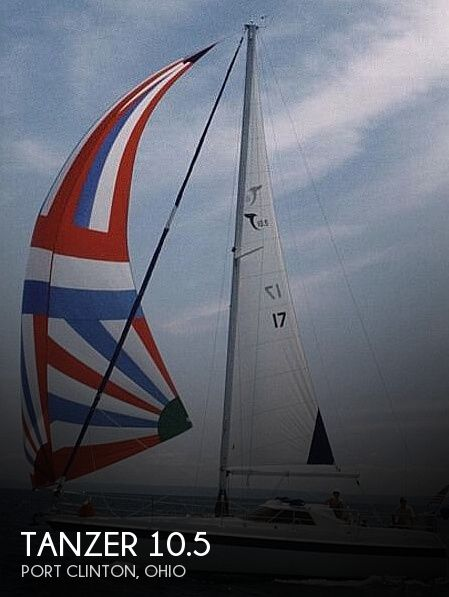 1983 Tanzer boat for sale, model of the boat is 10.5 & Image # 1 of 40
