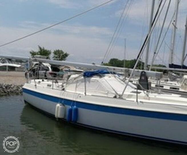 1983 Tanzer boat for sale, model of the boat is 10.5 & Image # 3 of 40