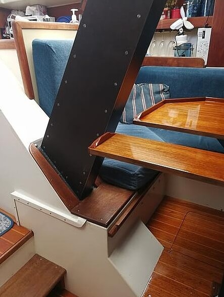 1983 Tanzer boat for sale, model of the boat is 10.5 & Image # 11 of 40