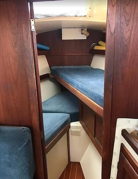 1983 Tanzer boat for sale, model of the boat is 10.5 & Image # 13 of 40