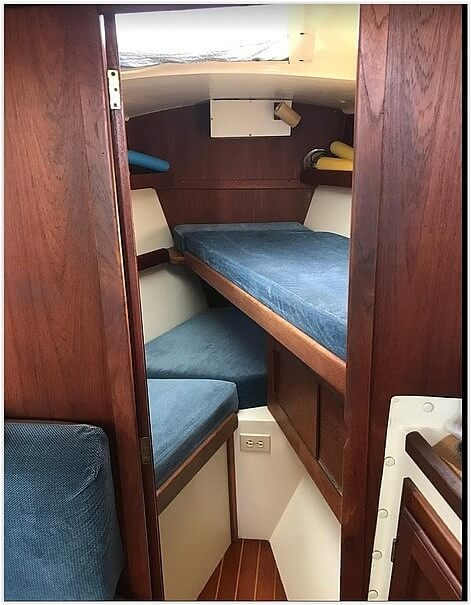1983 Tanzer boat for sale, model of the boat is 10.5 & Image # 17 of 40