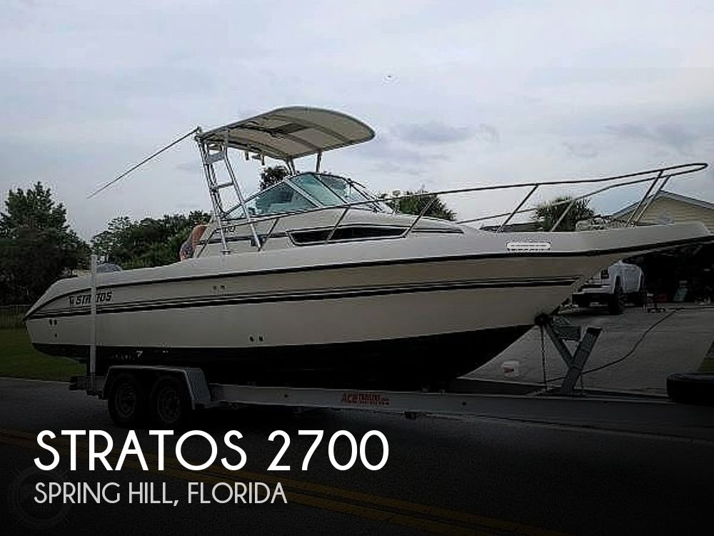 1993 Stratos boat for sale, model of the boat is 2700 & Image # 1 of 40