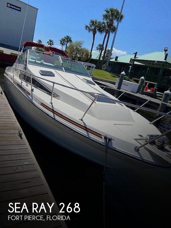 Used Sea Ray Weekender Boats For Sale by owner | 1987 Sea Ray 268 Weekender
