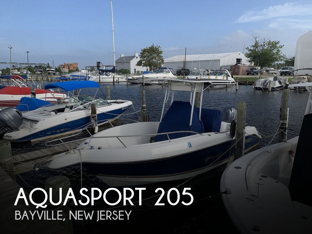 2004 Aquasport boat for sale, model of the boat is 205 Osprey Tournament Master & Image # 1 of 40