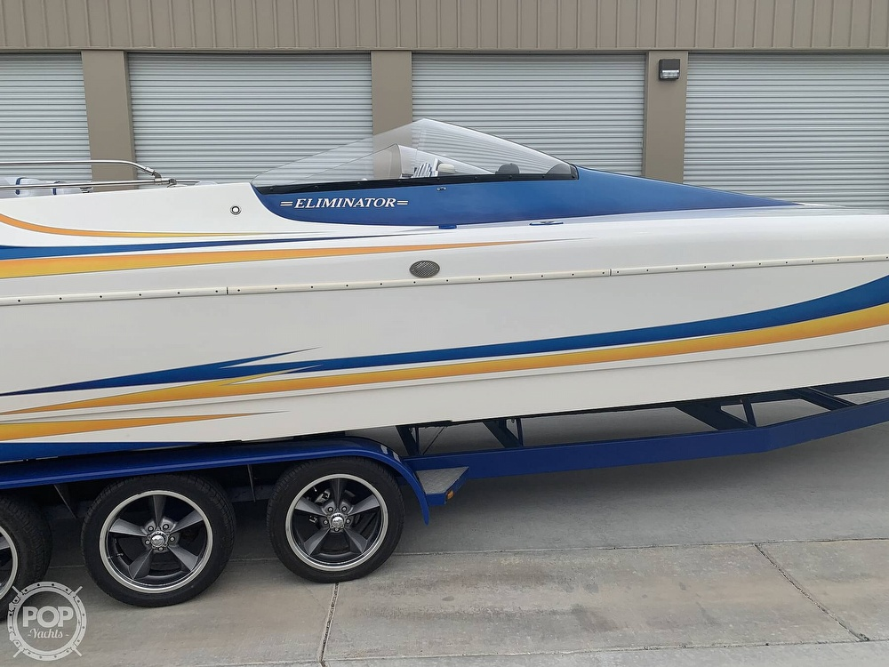 2003 Eliminator boat for sale, model of the boat is Daytona 30 & Image # 2 of 40
