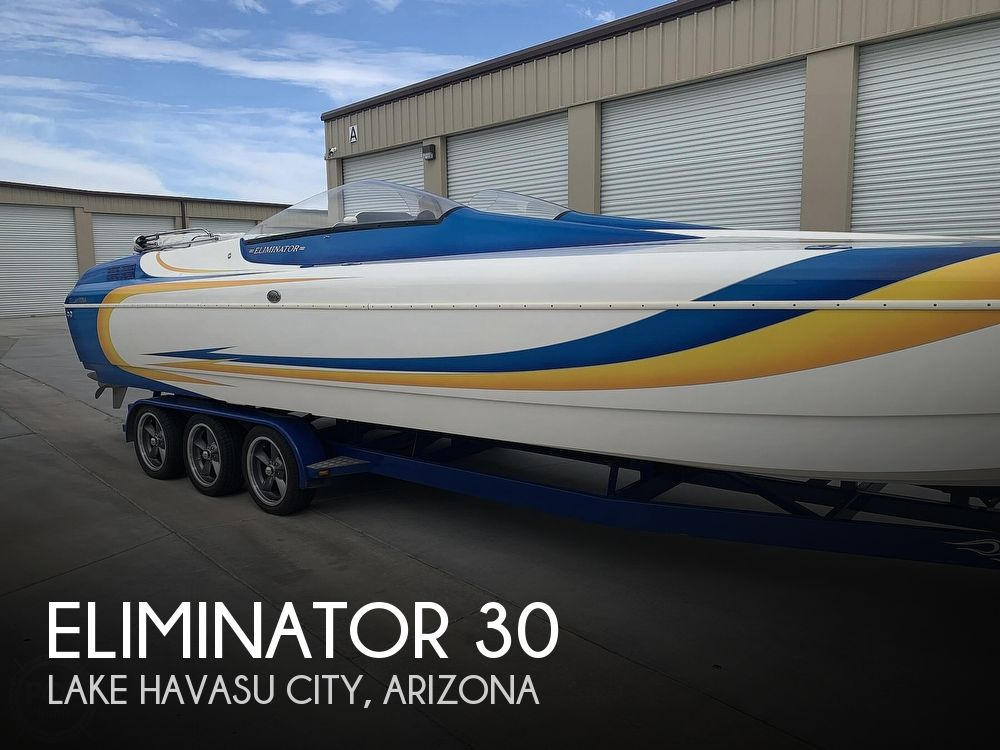 2003 Eliminator boat for sale, model of the boat is Daytona 30 & Image # 1 of 40