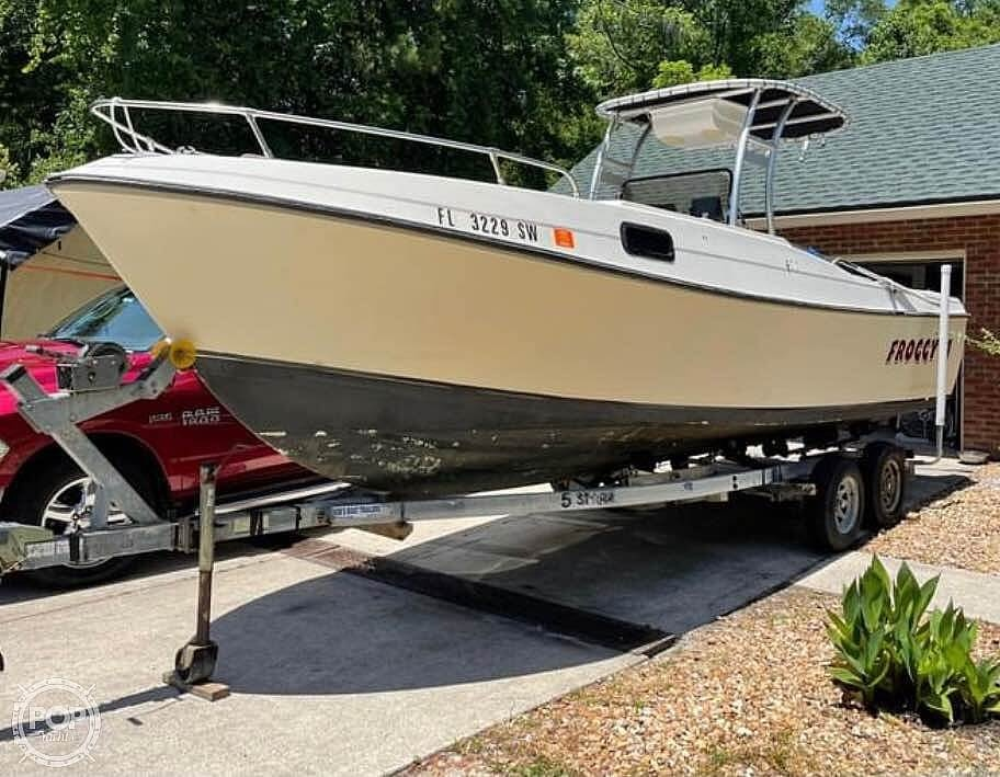 1980 Aquasport boat for sale, model of the boat is 24 & Image # 3 of 9