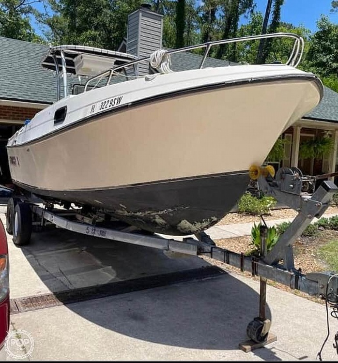 1980 Aquasport boat for sale, model of the boat is 24 & Image # 4 of 9