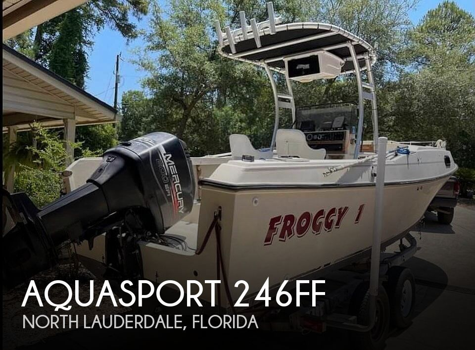 1980 Aquasport boat for sale, model of the boat is 24 & Image # 1 of 9