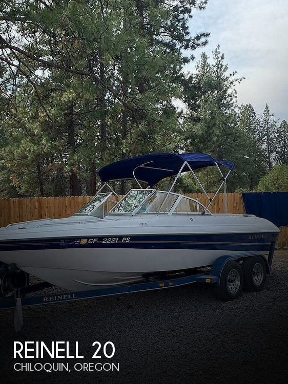 Used Power boats For Sale in Medford, Oregon by owner | 2001 Reinell 20