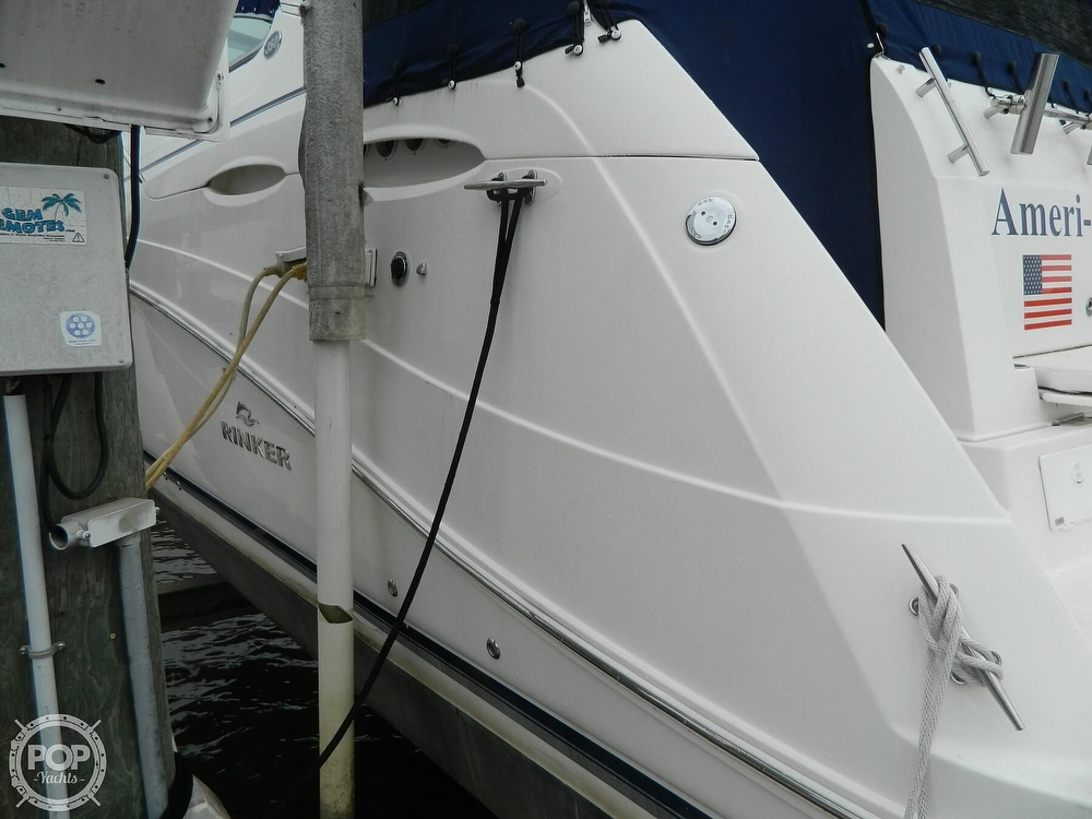 2007 Rinker boat for sale, model of the boat is 350 EC & Image # 30 of 40