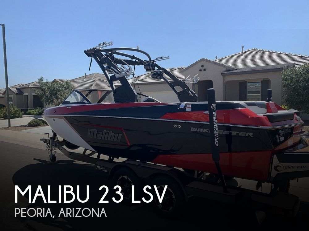2018 Malibu boat for sale, model of the boat is 23 LSV & Image # 1 of 40