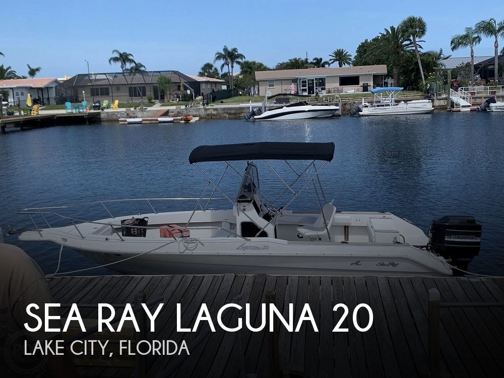 1989 Sea Ray boat for sale, model of the boat is Laguna 20 & Image # 1 of 4