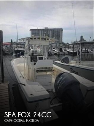 2004 Sea Fox boat for sale, model of the boat is 24CC & Image # 1 of 40