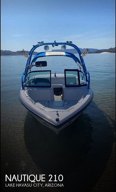 2004 Nautique boat for sale, model of the boat is super air 210 & Image # 1 of 18