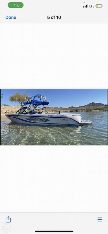 2004 Nautique boat for sale, model of the boat is super air 210 & Image # 13 of 18