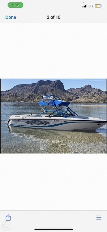 2004 Nautique boat for sale, model of the boat is super air 210 & Image # 15 of 18