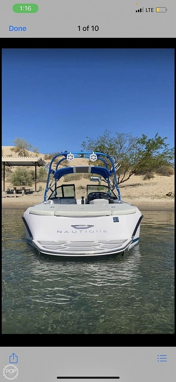 2004 Nautique boat for sale, model of the boat is super air 210 & Image # 16 of 18