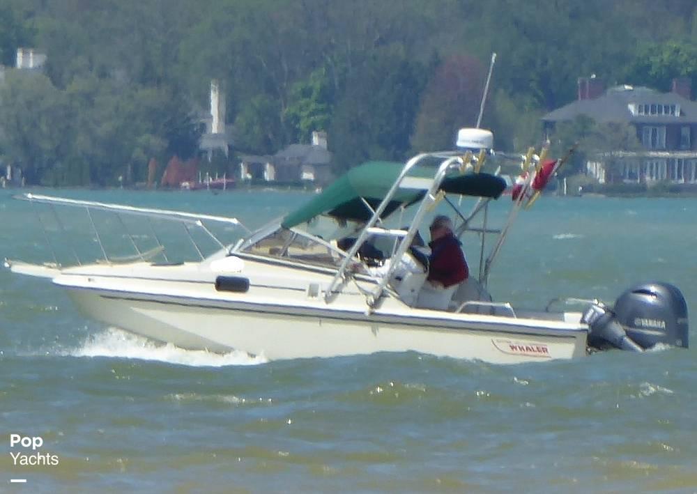 1986 Boston Whaler boat for sale, model of the boat is Revenge WT 22 & Image # 22 of 24