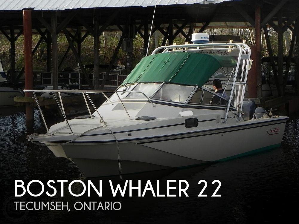 1986 Boston Whaler boat for sale, model of the boat is Revenge WT 22 & Image # 1 of 24