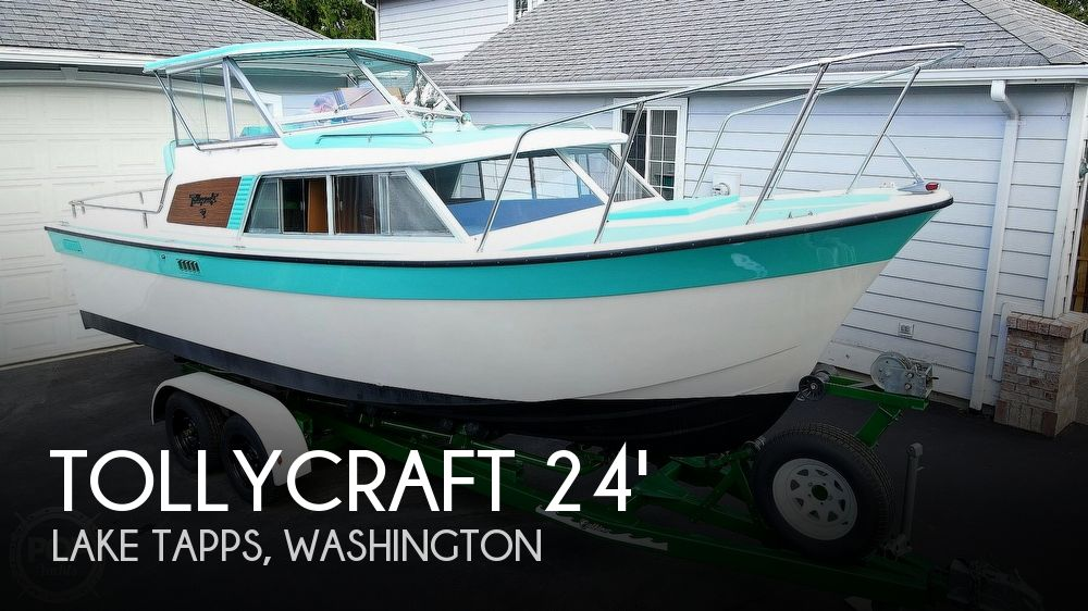 1971 Tollycraft boat for sale, model of the boat is Royal Express & Image # 1 of 40