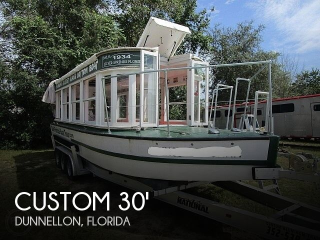 1934 Custom boat for sale, model of the boat is 30' Glass Bottom Boat & Image # 1 of 22