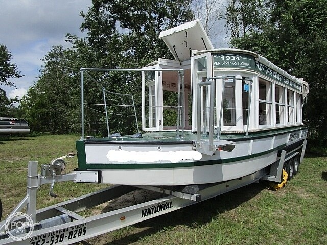 1934 Custom boat for sale, model of the boat is 30' Glass Bottom Boat & Image # 2 of 22