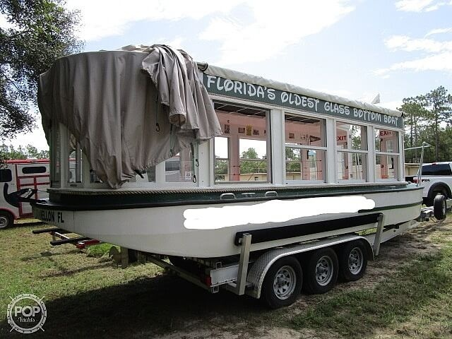 1934 Custom boat for sale, model of the boat is 30' Glass Bottom Boat & Image # 4 of 22