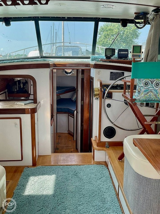1977 Mainship boat for sale, model of the boat is 34 Trawler & Image # 6 of 40