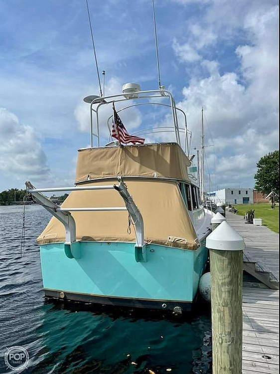 1977 Mainship boat for sale, model of the boat is 34 Trawler & Image # 3 of 40