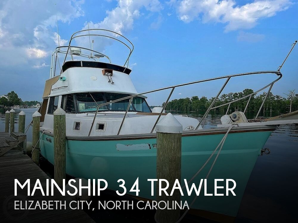 1977 Mainship boat for sale, model of the boat is 34 Trawler & Image # 1 of 40