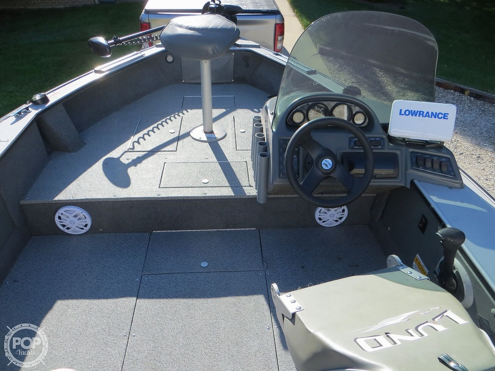 2003 Lund boat for sale, model of the boat is Mr Pike 17 & Image # 5 of 40