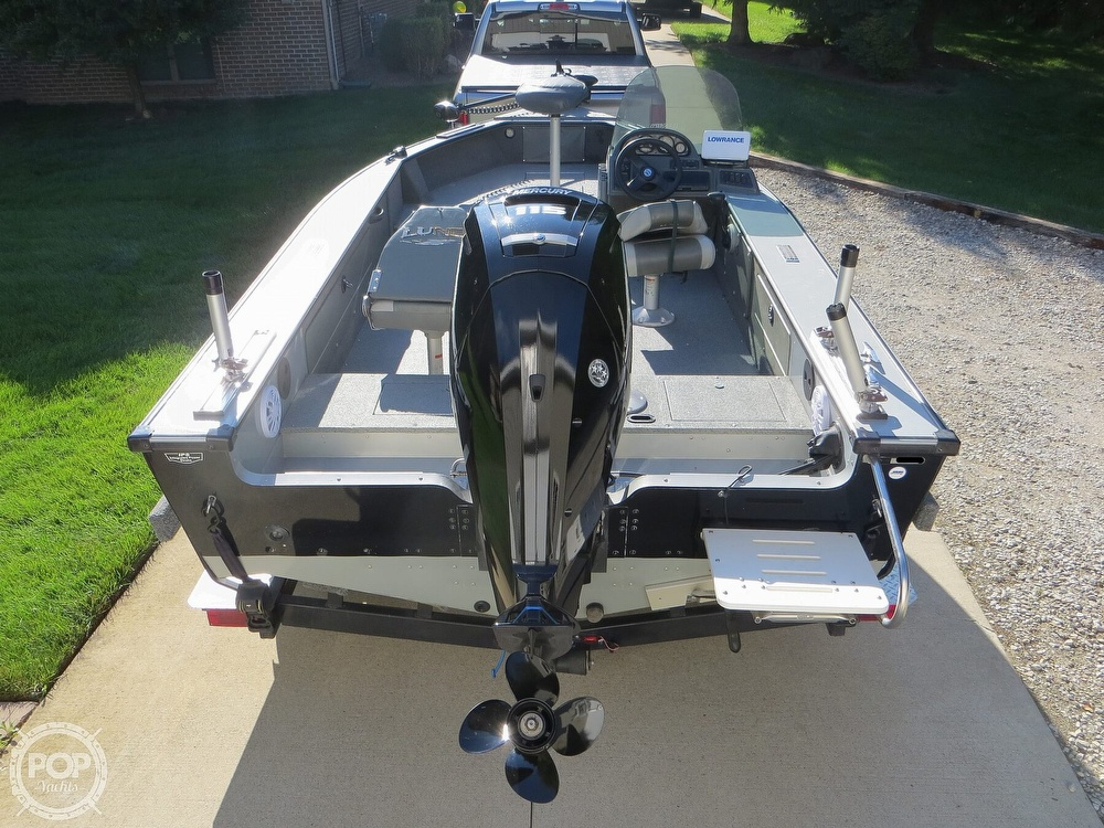 2003 Lund boat for sale, model of the boat is Mr Pike 17 & Image # 11 of 40