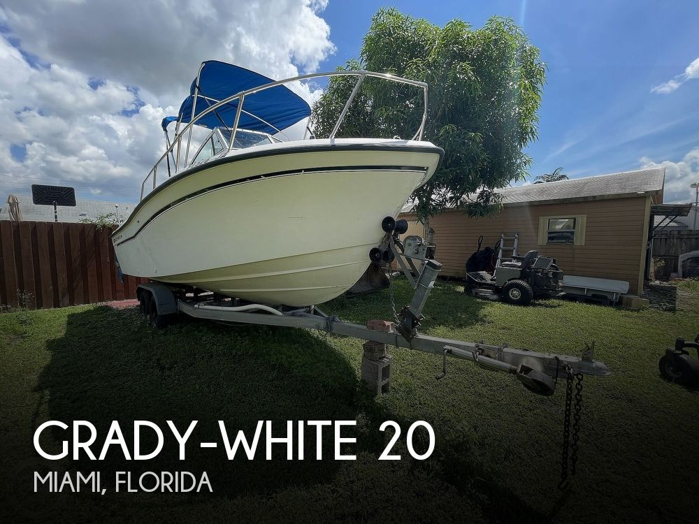1995 Grady-White boat for sale, model of the boat is Adventure 20 & Image # 1 of 40