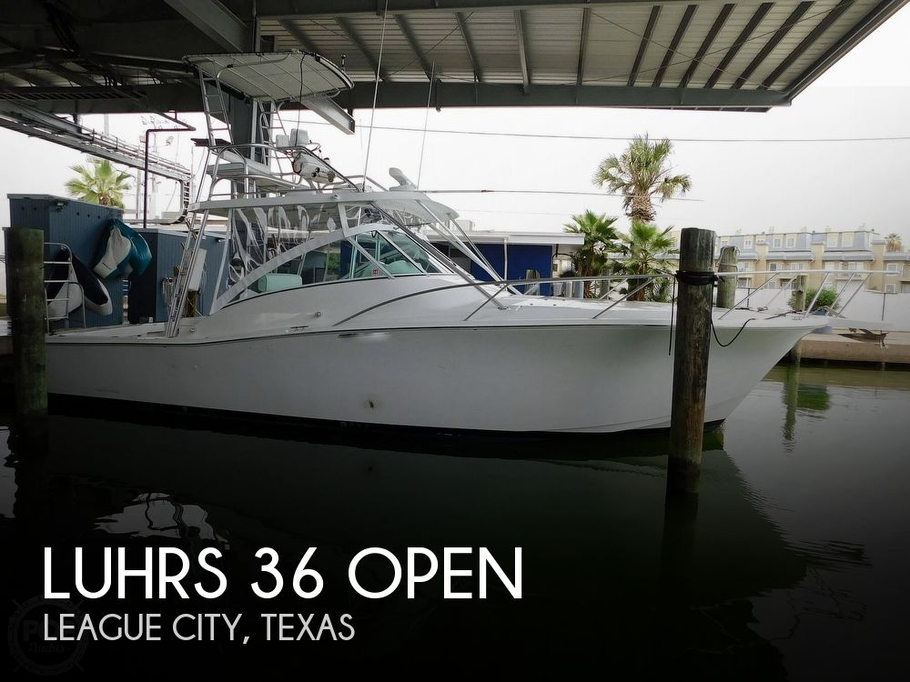 2003 Luhrs boat for sale, model of the boat is 36 Open & Image # 1 of 40