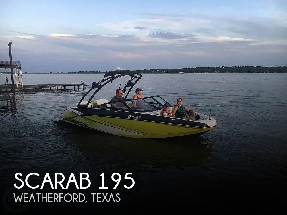 2014 Scarab boat for sale, model of the boat is 195 HO Impulse & Image # 1 of 40