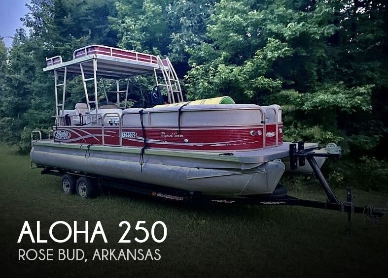 2013 Aloha Pontoons boat for sale, model of the boat is Tropical Series 250 Sundeck & Image # 1 of 1