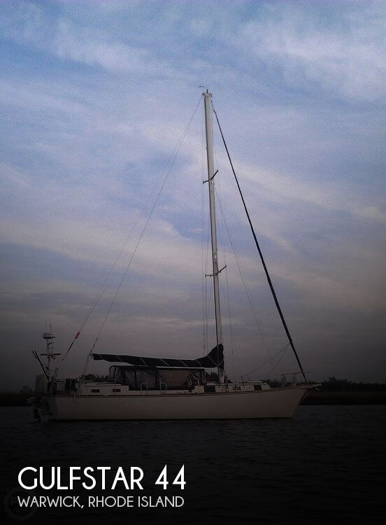 1972 Gulfstar boat for sale, model of the boat is 44 & Image # 1 of 40