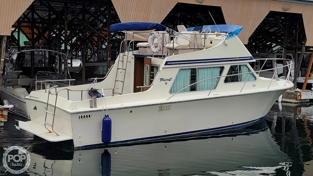 1979 Tollycraft boat for sale, model of the boat is 26' Sedan & Image # 5 of 40