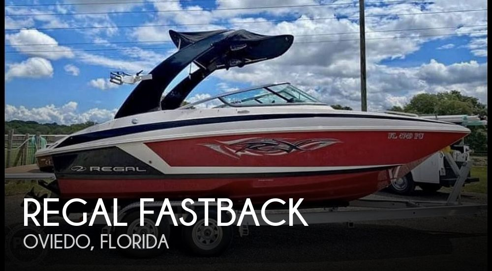 2012 Regal boat for sale, model of the boat is Fastback & Image # 1 of 40