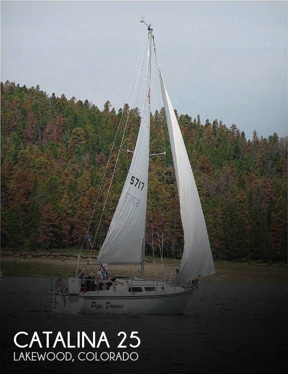 1988 Catalina Yachts boat for sale, model of the boat is 25 & Image # 1 of 40