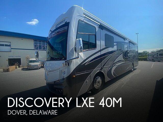 2022 Fleetwood Discovery LXE 40M