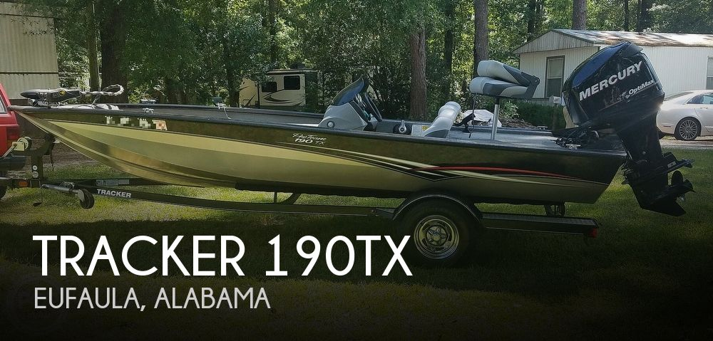 2013 Tracker Boats boat for sale, model of the boat is 190TX & Image # 1 of 40