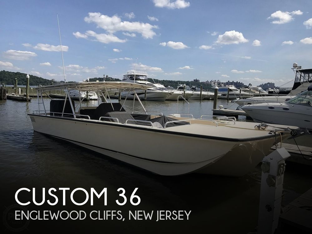 2008 Custom boat for sale, model of the boat is 36 Diesel Deck/Party Boat & Image # 1 of 40