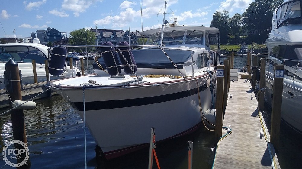 1968 Chris Craft boat for sale, model of the boat is Riviera Roamer 46 & Image # 2 of 40